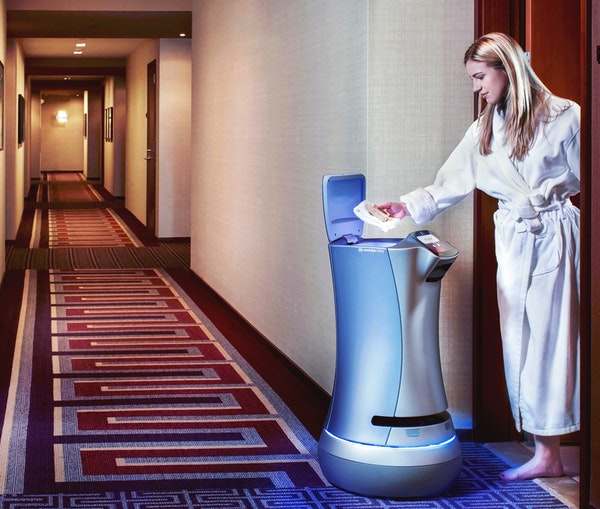 Hotels Roll Out Robotic Room Service