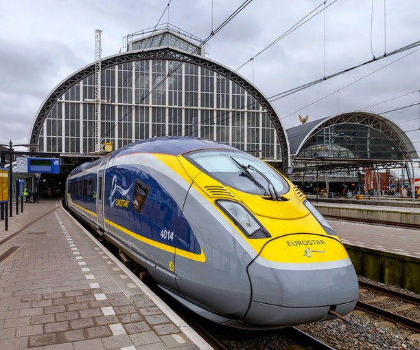 There's Now a Direct High-Speed Train From Amsterdam to London