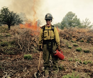 Coolest Travel Jobs: What It's Like to Be a Wildland Firefighter