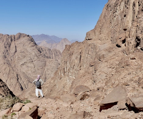Egypt Opens 105-Mile Hiking Trail in the Red Sea Mountains   Egypt