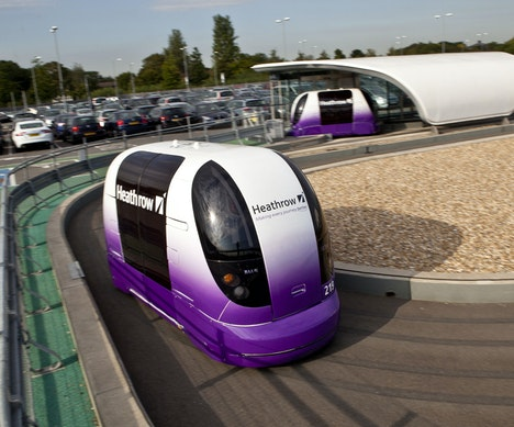 There's a Secret Way to Try Out Driverless Cars at Heathrow Airport London