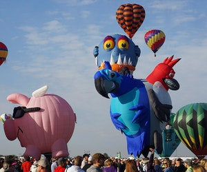 Everything You Need to Know About Albuquerque's Massive Hot Air Balloon Festival