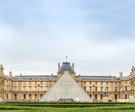 The Louvre Pyramid Celebrates 30 Years With a Trippy Optical Illusion Paris