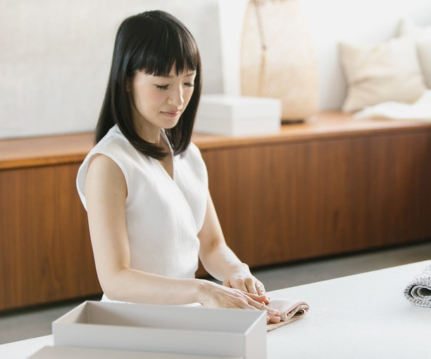 How to Apply Marie Kondo's Life-Changing Magic to Packing