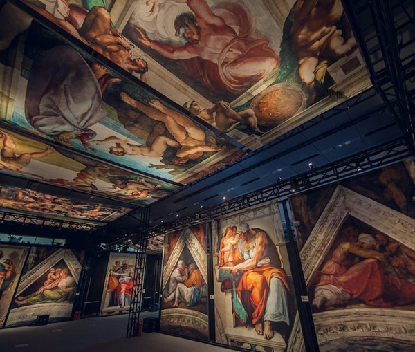 A Life-Sized Reproduction of Michelangelo's Sistine Chapel Arrives in St. Louis