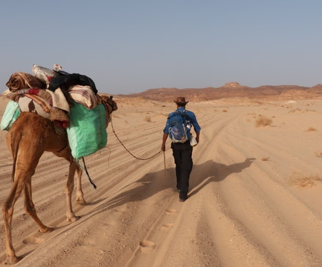 What One Man Learned Walking 1,000 Miles Across the Middle East   Jordan