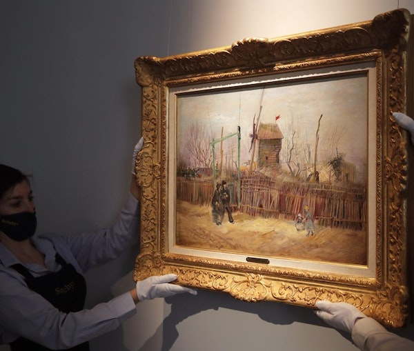 Rarely Seen Van Gogh Painting Exhibited Ahead of Auction