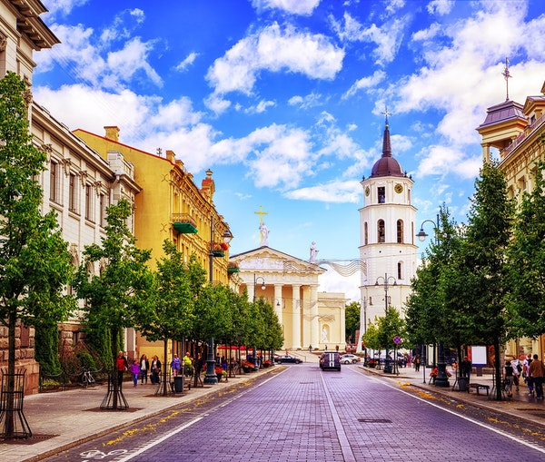 """Lithuania's Capital Is Marketing Itself as """"The G-Spot of Europe"""""""