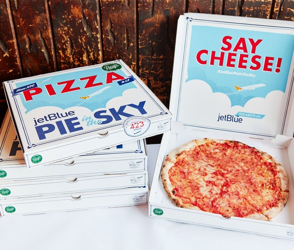 Hey, L.A., JetBlue Wants to Deliver Your Pizza—From New York