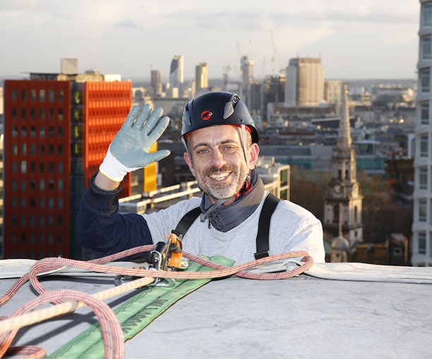 Last-Minute Alert: Rappel From the Rooftop of This London Hotel