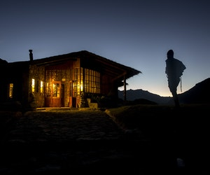 """The World's Most Luxurious """"Hut-to-Hut"""" Hikes"""