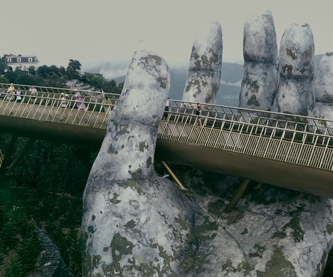 Hands Down, This Is the Coolest New Bridge in Vietnam   Vietnam