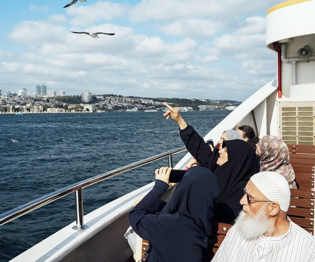 On the Water in Istanbul, Where Two Continents Meet