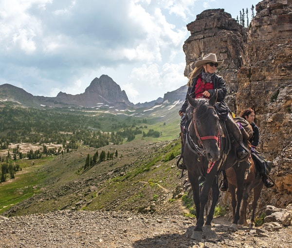 On a Horseback Trip Through Wyoming, a Mother-Daughter Duo Return to Their Roots