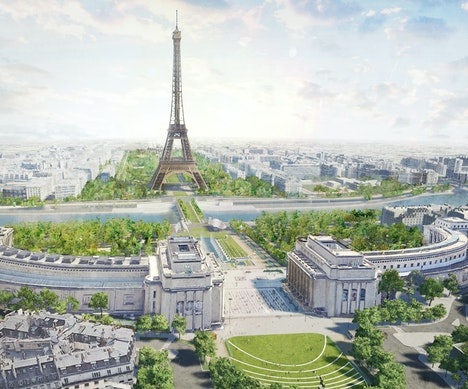 Oui, the Eiffel Tower Is Getting a Huge New Park Paris
