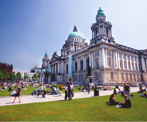 Fly Nonstop to Belfast, the Dynamic Capital of Northern Ireland   Ireland