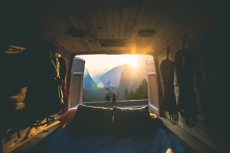 The perfect morning view.