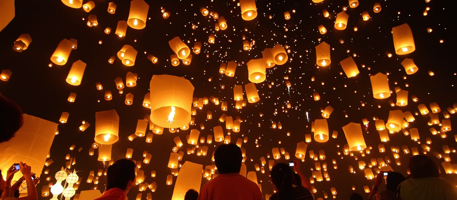 Traditional lanterns are commonly used to commemorate cultural and spiritual celebrations around the world.