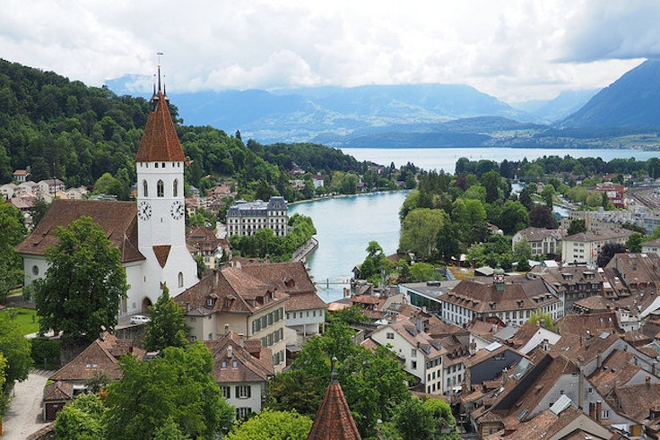 Switzerland's Celtic roots live on in such towns as Thun.