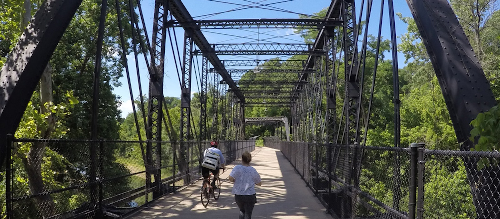 The new coast-to-coast bike route will begin on the Capital Crescent Trail in Washington, D.C.