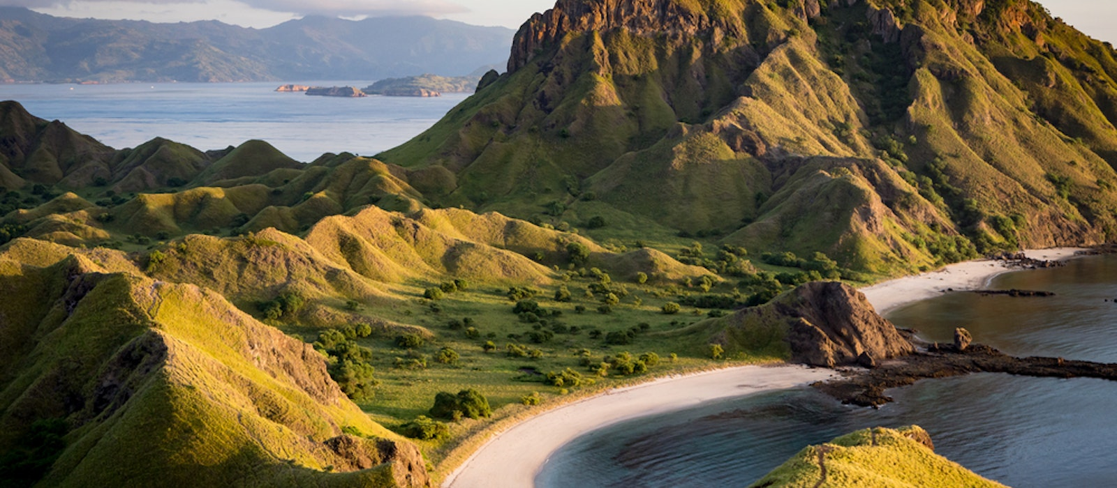 Padar Island is one of the islands within the Komodo archipelago.