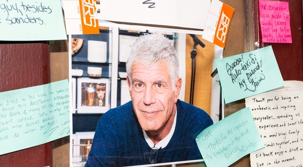 Anthony Bourdain Travel Guide Will Go on Sale in October 2020