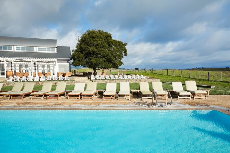 The vineyard-side pool at The Carneros Inn has always been there, but the rest of the property has gotten some serious upgrades.