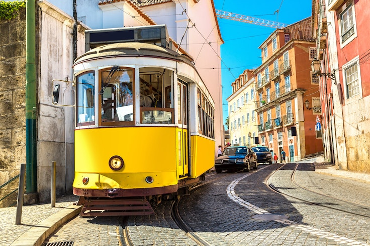 What better way to spend a spring day than riding a retro tram in Lisbon?