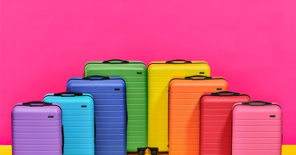 Away's New Suitcases Come in All Colors of the Rainbow