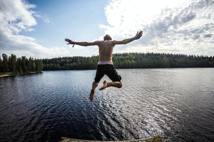 Finland says the secret to happiness is access to the outdoors.
