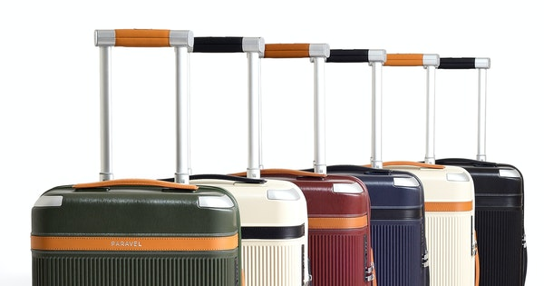 Paravel Launches Its First Wheeled Luggage Collection