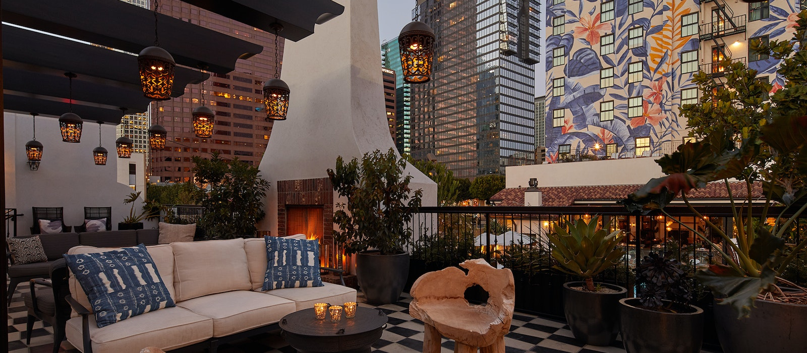 Downtown L.A.'s Hotel Figueroa opened earlier this year after an extensive two-year renovation project.