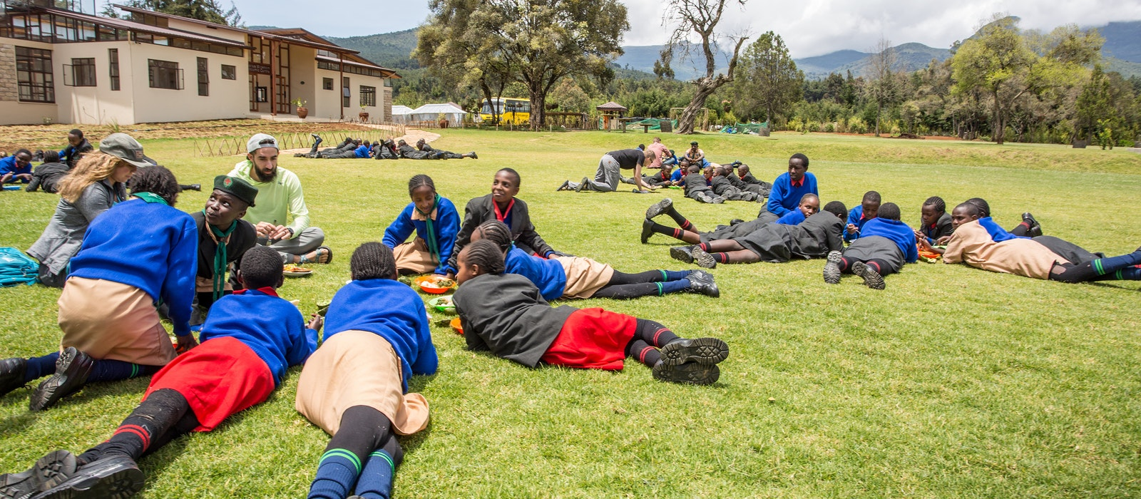 As part of a new voluntourism concept, outdoor retailer MSR is working with the Nairobi-area leadership academy Flying Kites to bring clean water to local schools.