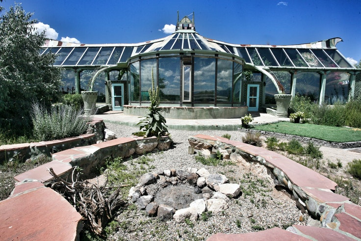 Phoenix, one of the more opulent Earthships