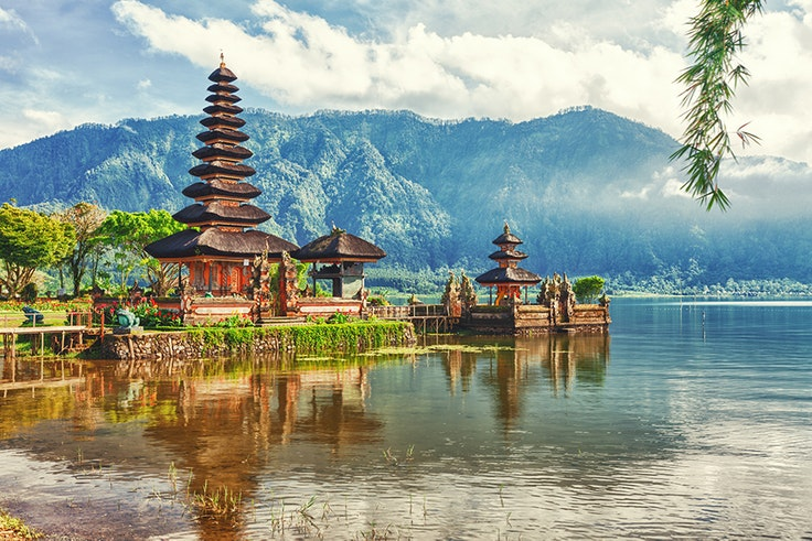 Visit Bali in early June for shoulder season prices and good weather.