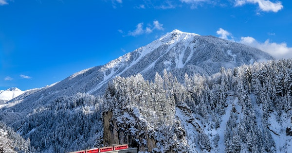Scenic Winter Train Rides You'll Want to Book Right Now