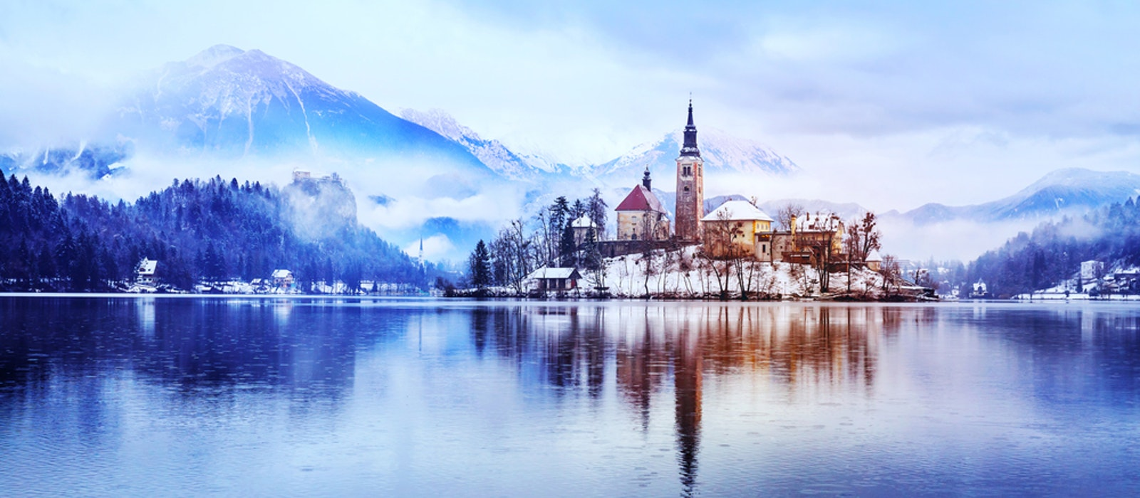 Explore the Slovenian Alps from a base like scenic Lake Bled.