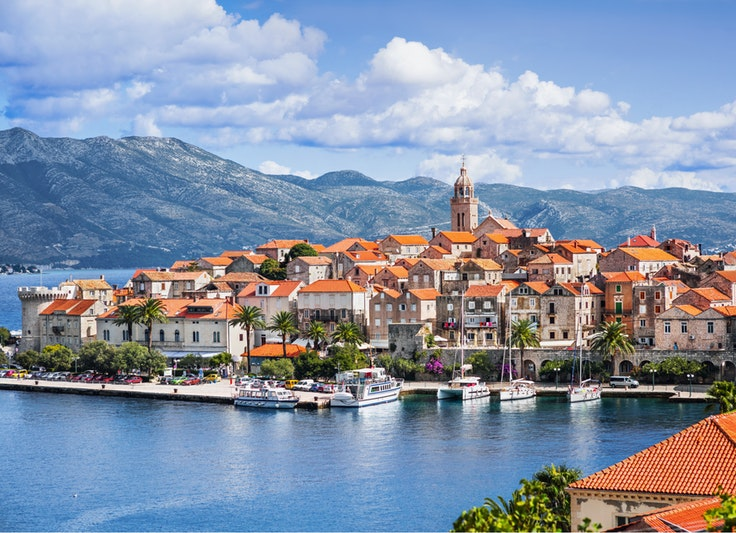 Korčula is one of several islands that the scholarship winner will visit.