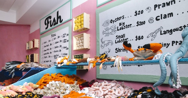 """Lucy Sparrow's Felt """"Delicatessen on 6th"""" Opens at NYC's Rockefeller Center"""