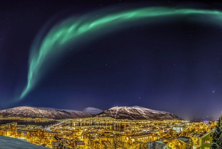 Tromsø, Norway—one of the northernmost cities in the world.
