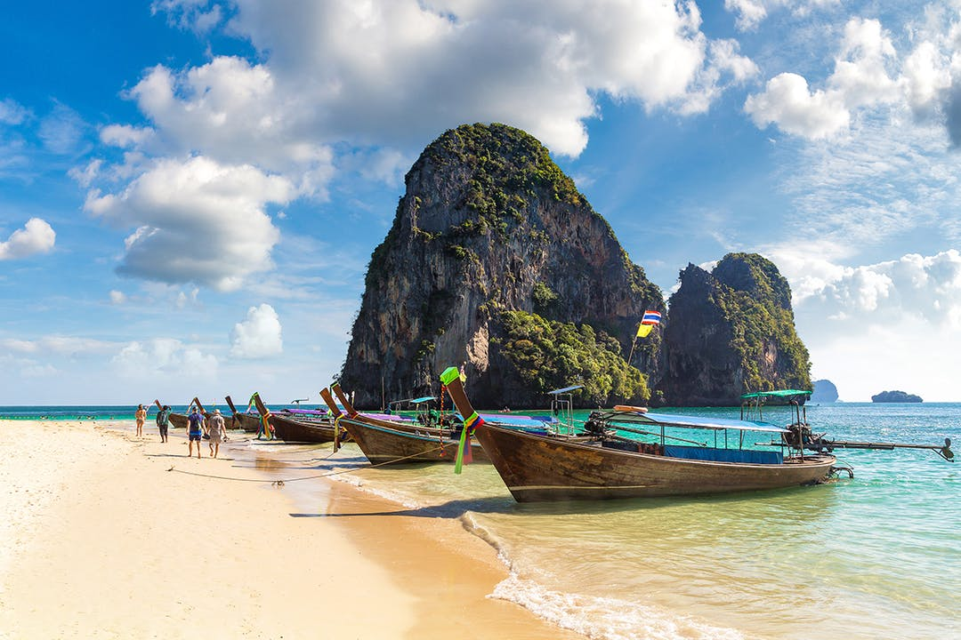 Phra Nang Beach is home to a cave dedicated to the ancient goddess of fertility.