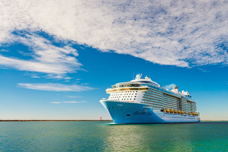 Mega-ships such as those in the Royal Caribbean fleet are the most likely to have last-minute inventory available.