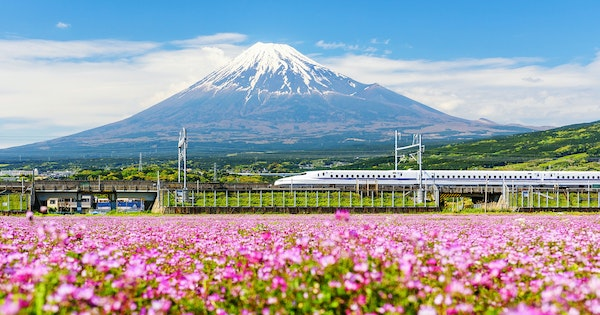 6 Most Beautiful Spring Train Rides Around the World