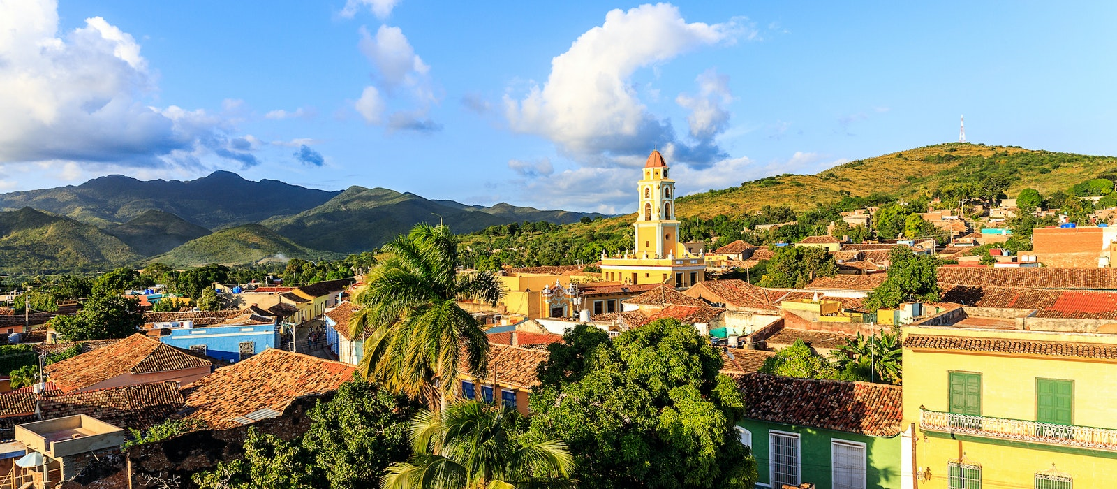 Trinidad is a town in central Cuba known for its colonial-style buildings and cobblestone streets.