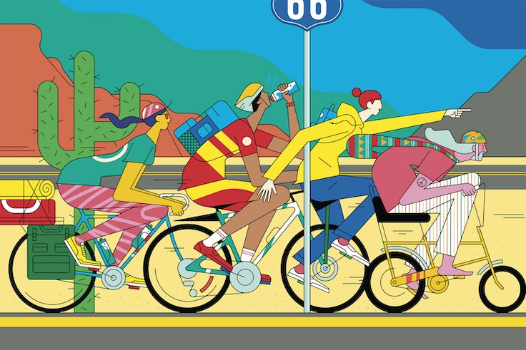 Grab your helmet and see America by bike on the U.S. Bicycle Route system.