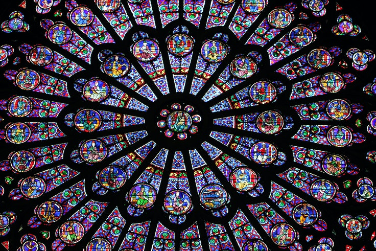 It is unclear how badly the fire damaged Notre-Dame's famed rose windows.
