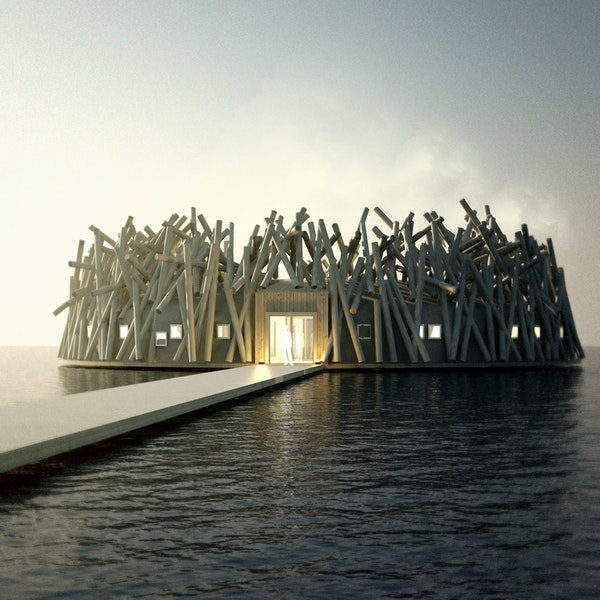 A Floating Hotel and Spa Is Opening in Sweden Soon
