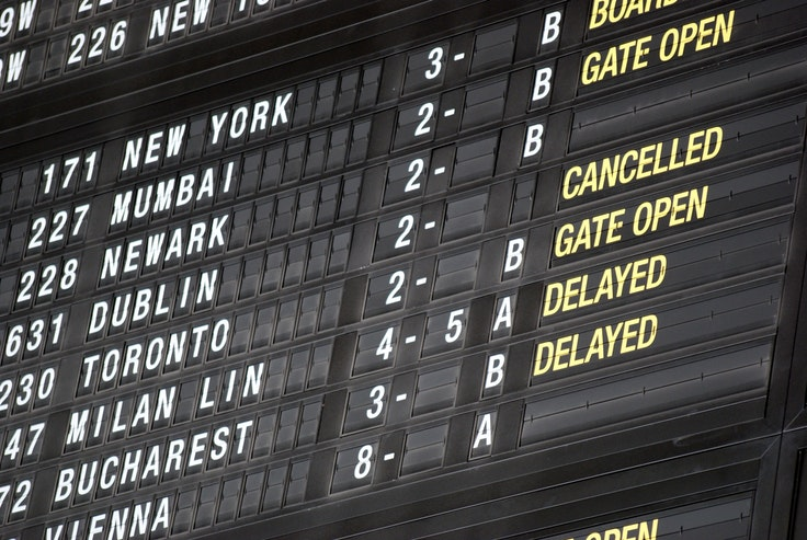 Know your rights. The European Union mandates compensation in the event of delayed, canceled, or overbooked flights.