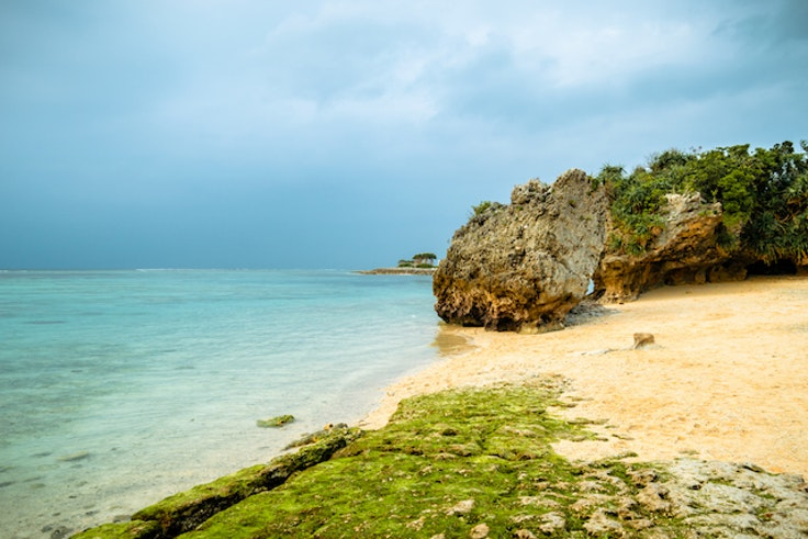 Okinawa's aptly named Emerald Beach