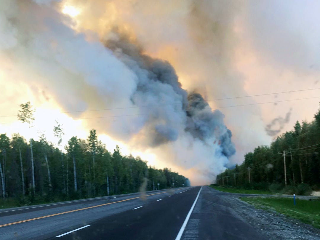Highway travel in Southcentral Alaska right now can mean occasional road closures, limited visibility, and blowing embers. Visitors should get the latest updates before hitting the road.